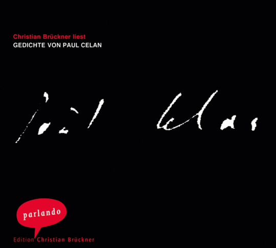 Paul Celan. Gedichte. CD.