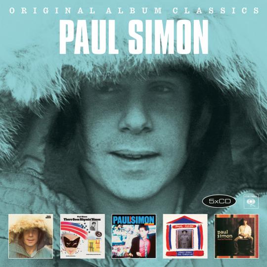 Paul Simon. Original Album Classics. 5 CDs.
