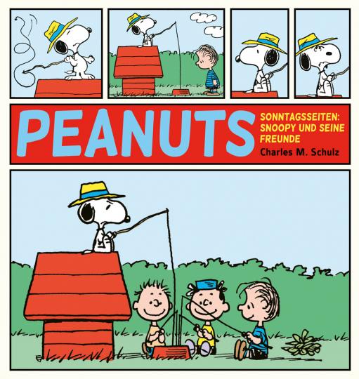 Peanuts Sonntagsseiten. Snoopy und seine Freunde.