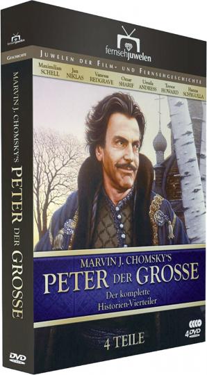 Peter der Große 4 DVDs