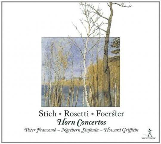 Peter Francomb spielt Hornkonzerte. CD.