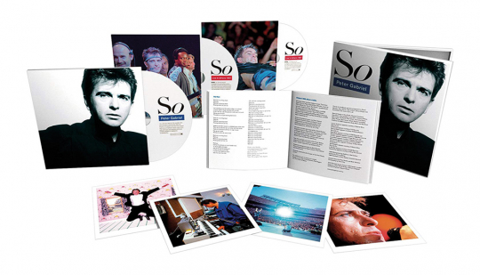 Peter Gabriel. So (2012 Remaster) (25th-Anniversary-Limited-Special-Edition). 3 CDs.