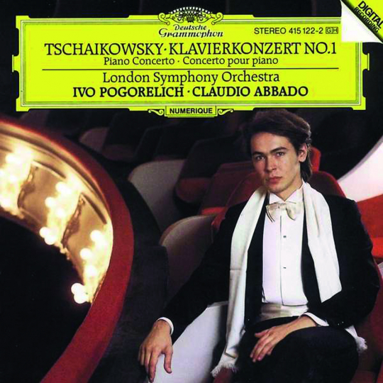 Peter Iljitsch Tschaikowsky. Klavierkonzert Nr. 1. CD.