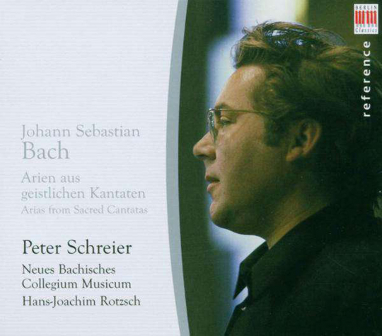 Peter Schreier. Singt Arien und Duette aus Bach-Kantaten. CD.