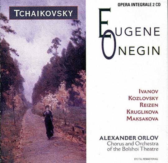 Tschaikowsky - Eugene Onegin. 2 CDs.