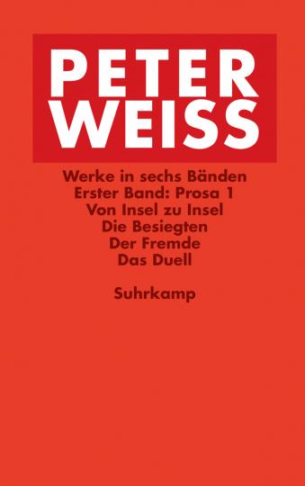 Peter Weiss. Werke in sechs Bänden.