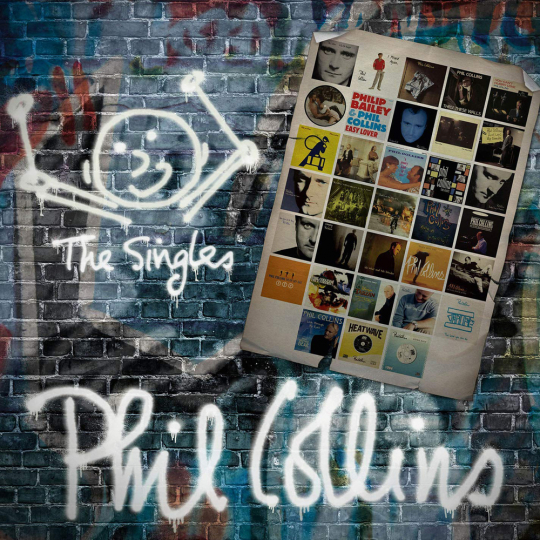 Phil Collins. The Singles. 2 CDs.