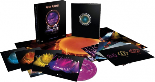 Pink Floyd. Delicate Sound Of Thunder: Live (Deluxe Box Edition). 2 CDs, 1 DVD, 1 Blu-ray Disc.