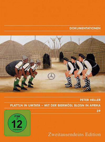 Plattln in Umtata. Mit der Biermösl Blosn in Afrika. DVD.