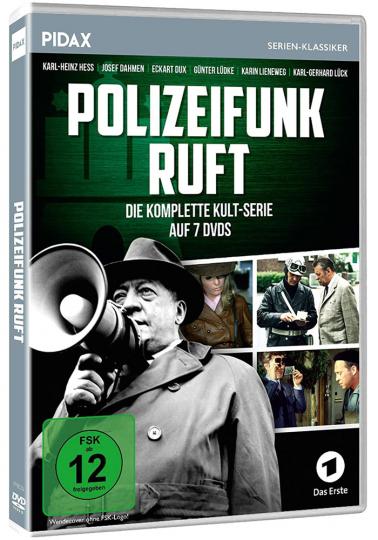 Polizeifunk ruft (Komplette Serie). 7 DVDs.