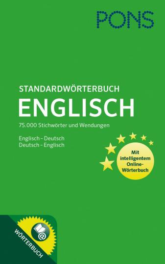 PONS Standardwörterbuch Englisch. 75.000 Stichwörter und Wendungen. Englisch-Deutsch, Deutsch-Englisch.