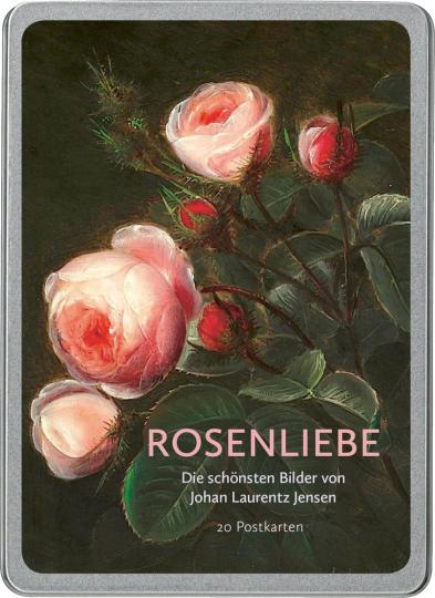 Postkarten - Rosenliebe