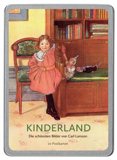 Postkarten-Set »Kinderland«. Die schönsten Bilder von Carl Larsson.