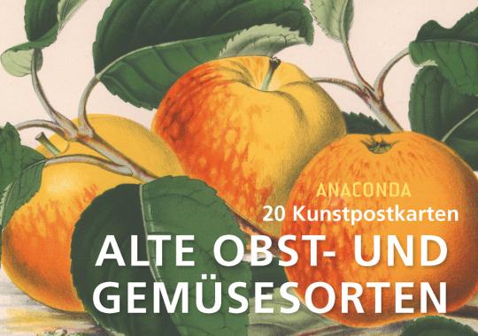 Postkartenbuch Alte Obst- und Gemüsesorten.