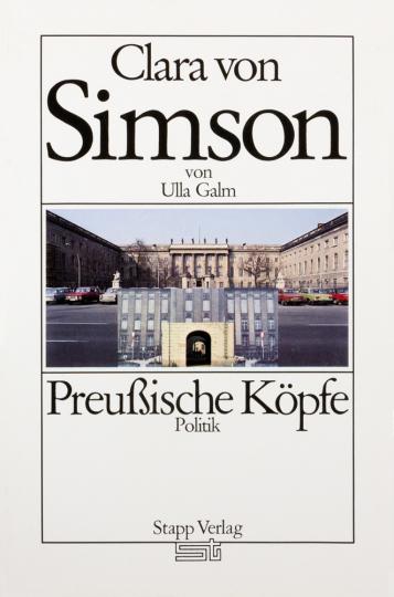 Preußische Köpfe. Clara von Simson.