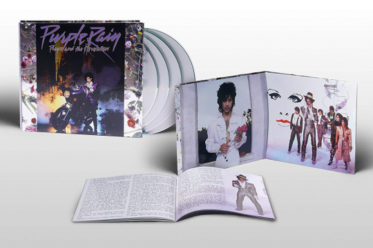 Prince. Purple Rain (Expanded-Deluxe-Edition). 3 CDs, 1 DVD.