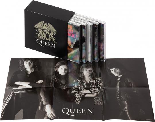 Queen 40 (Limitierte Edition). 10 CDs.