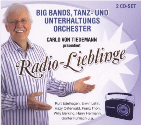 Radio-Lieblinge. Big Bands, Tanz- und Unterhaltungsorchester. 2 CDs.