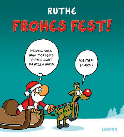 Ralph Ruthe. Frohes Fest!