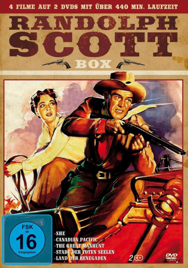 Randolph Scott. Box. 2 DVDs.