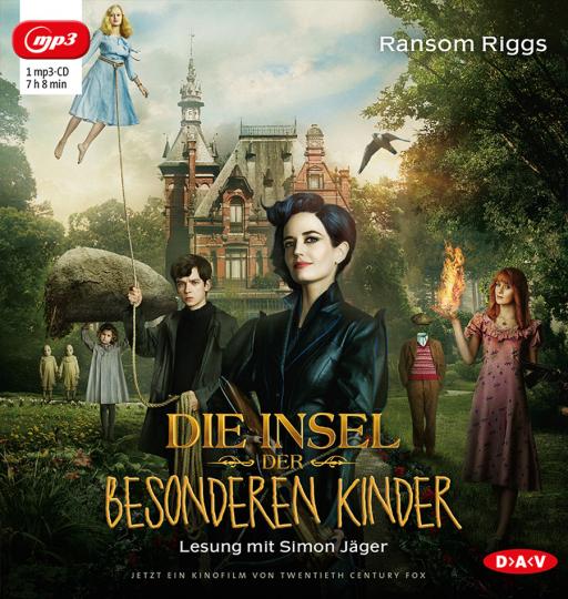 Ransom Riggs. Die Insel der besonderen Kinder. 1 mp3-CD.