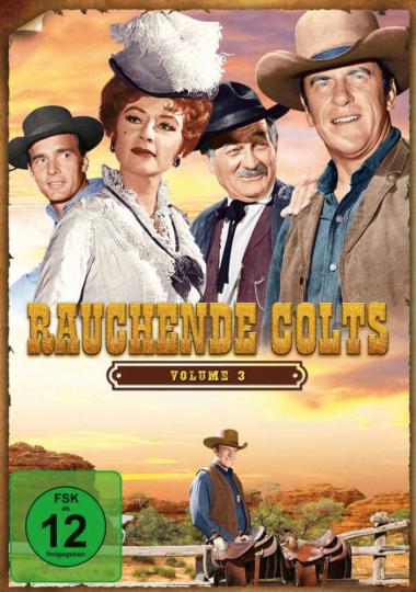 Rauchende Colts Volume 3. 7 DVDs.