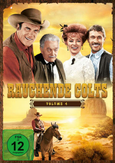 Rauchende Colts Volume 4. 6 DVDs.