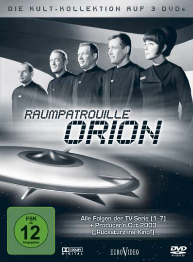 Raumpatrouille Orion (Kultkollektion mit TV-Serie & Kinofilm). 3 DVDs.
