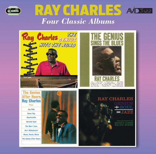 Ray Charles. Four Classic Albums. 2 CDs.