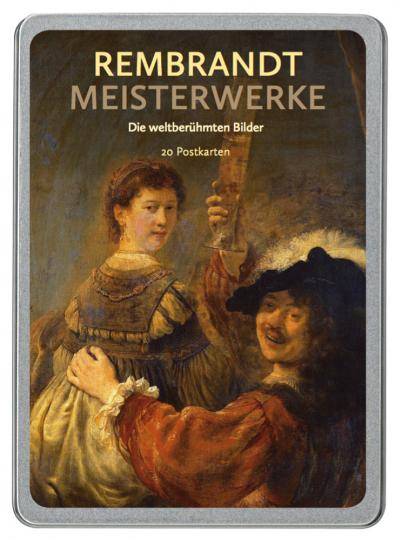 Rembrandt Meisterwerke. Die weltberühmten Bilder. 20 Postkarten.