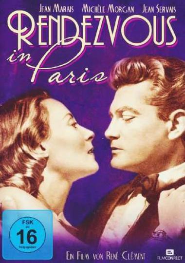 Rendezvous in Paris. DVD.