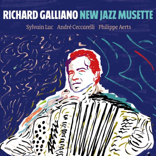 Richard Galliano. New Jazz Musette. 2 CDs.
