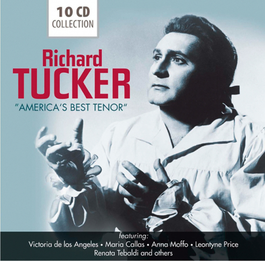 Richard Tucker. America`best Tenor.