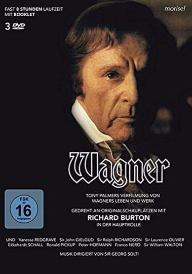 Richard Wagner. 3 DVDs.