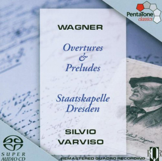 Richard Wagner. Ouvertüren und Präludien. SACD.