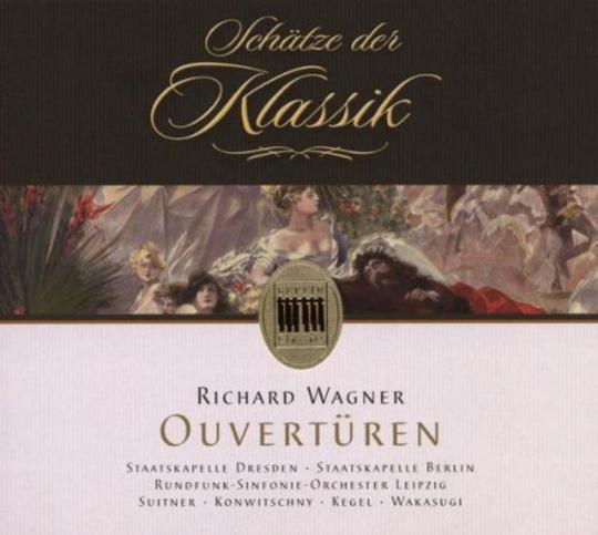 Richard Wagner. Ouvertüren. CD.