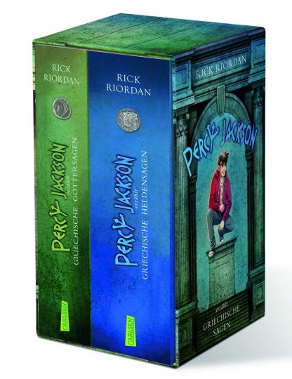 Rick Riordan. Percy Jackson erzählt. Griechische Göttersagen. Griechische Heldensagen. 2 Bände.