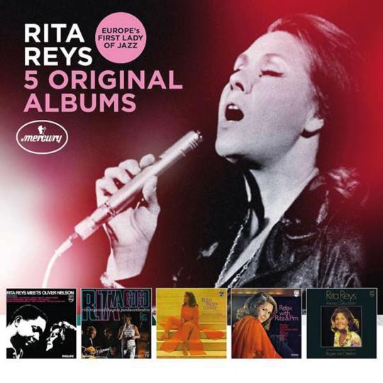 Rita Reys. 5 Original Albums. 5 CDs.
