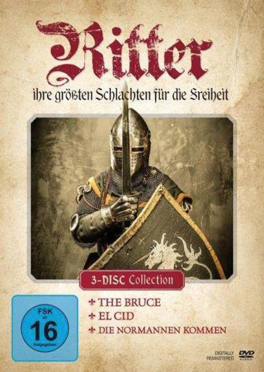 Ritter. Ihre größten Schlachten für die Freiheit. 3 DVDs.