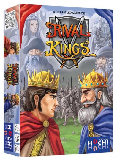 Rival Kings. Ein spannendes Duell zweier rivalisierender Königshäuser. Spiel.