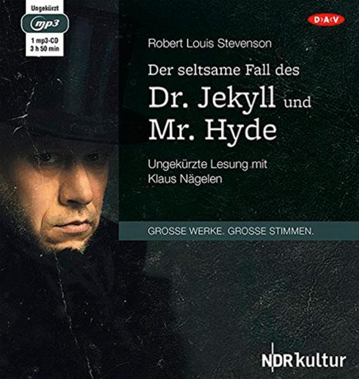 Robert Louis Stevenson. Der seltsame Fall des Dr. Jekyll und Mr. Hyde. Hörbuch. 1 CD.