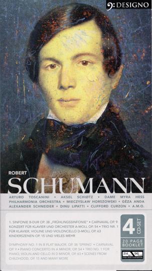 Robert Schumann. Leben und Werk. 4 CDs.