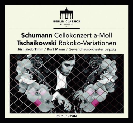 Robert Schumann. Peter Iljitsch Tschaikowsky. Werke für Violoncello. CD.