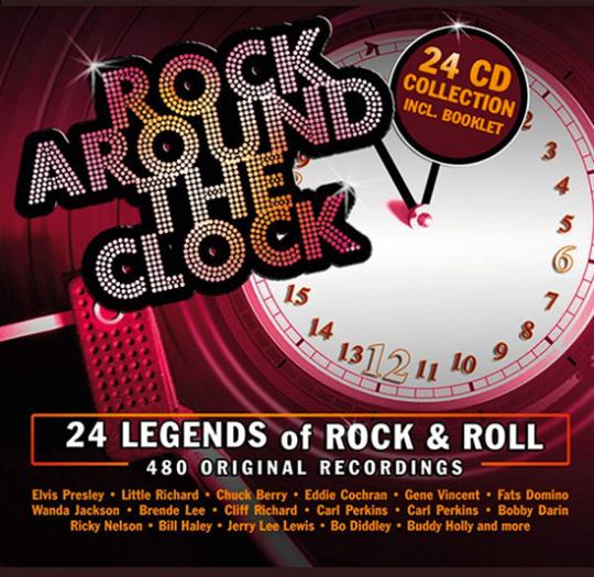Rock Around the Clock. 24 CD-Set.