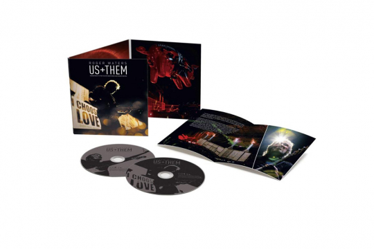 Roger Waters: Us + Them. 2 CDs.