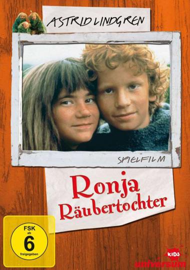 Ronja Räubertochter (Der Film). DVD.