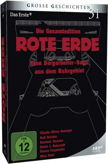 Rote Erde (Gesamtausgabe). 7 DVDs.