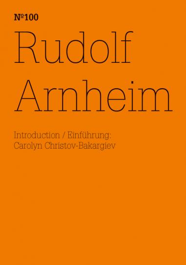 Rudolf Arnheim. dOCUMENTA (13).
