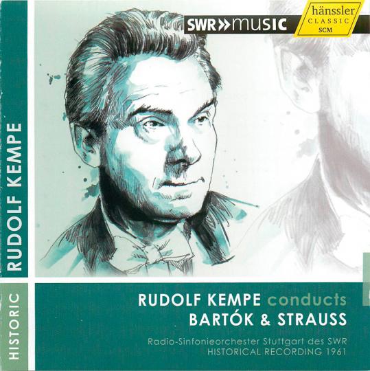 Rudolf Kempe dirigiert Bartók & Strauss. CD.