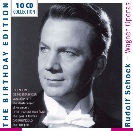 Rudolf Schock. Birthday Edition. Wagner-Opern.